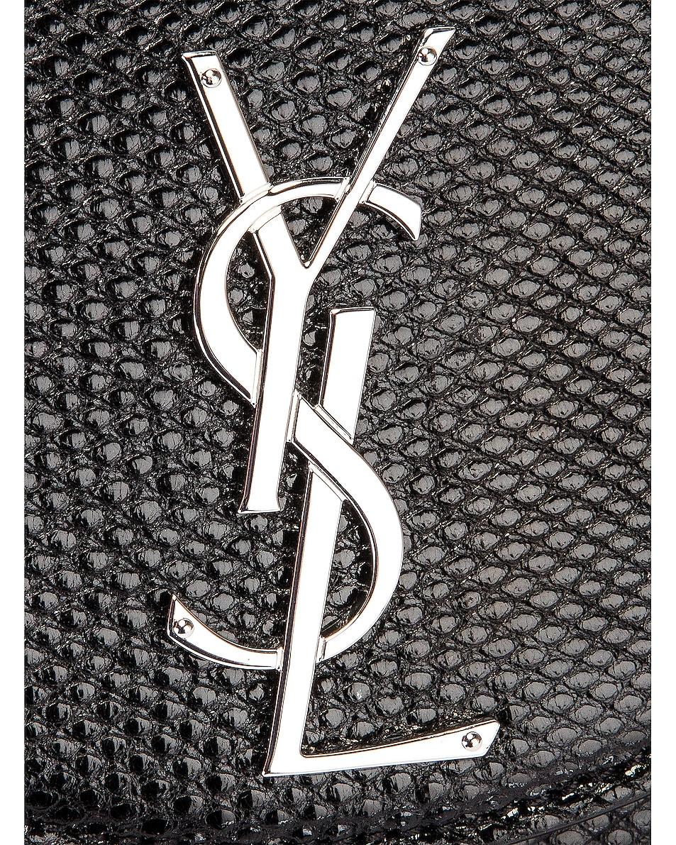 Image 8 of Saint Laurent Demi Lune Minaudiere Bag in Black