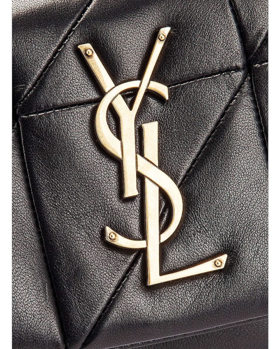 Image 7 of Saint Laurent Jamie Leather Belt Bag in Black