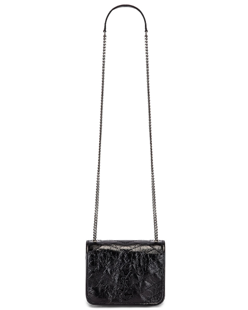 Image 5 of Saint Laurent Niki Wallet Chain Bag in Black
