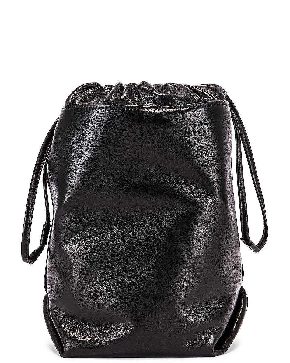 Image 2 of Saint Laurent Teddy Pouch Chain Bag in Black