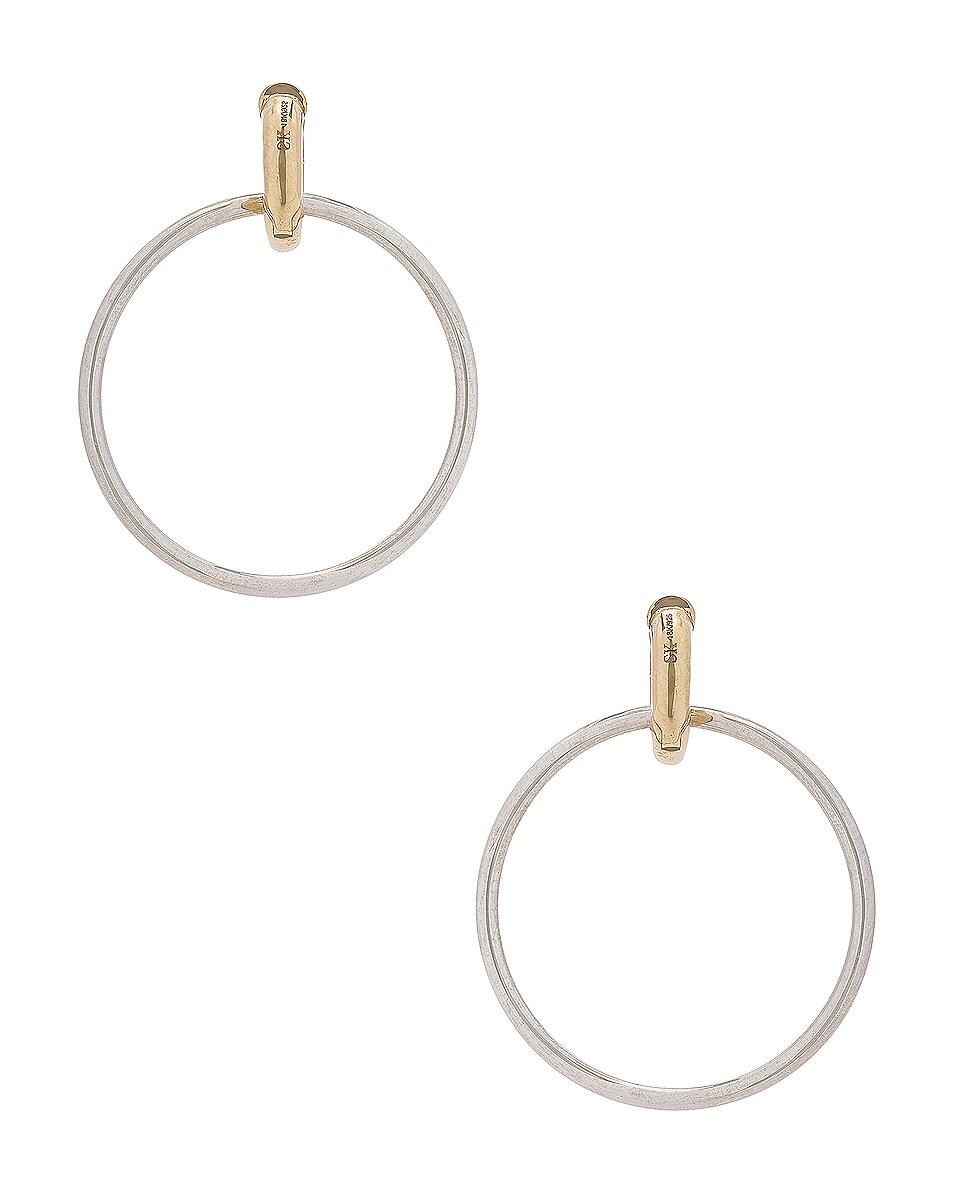 Image 4 of Spinelli Kilcollin Casseus Hoop Earrings in Sterling Silver
