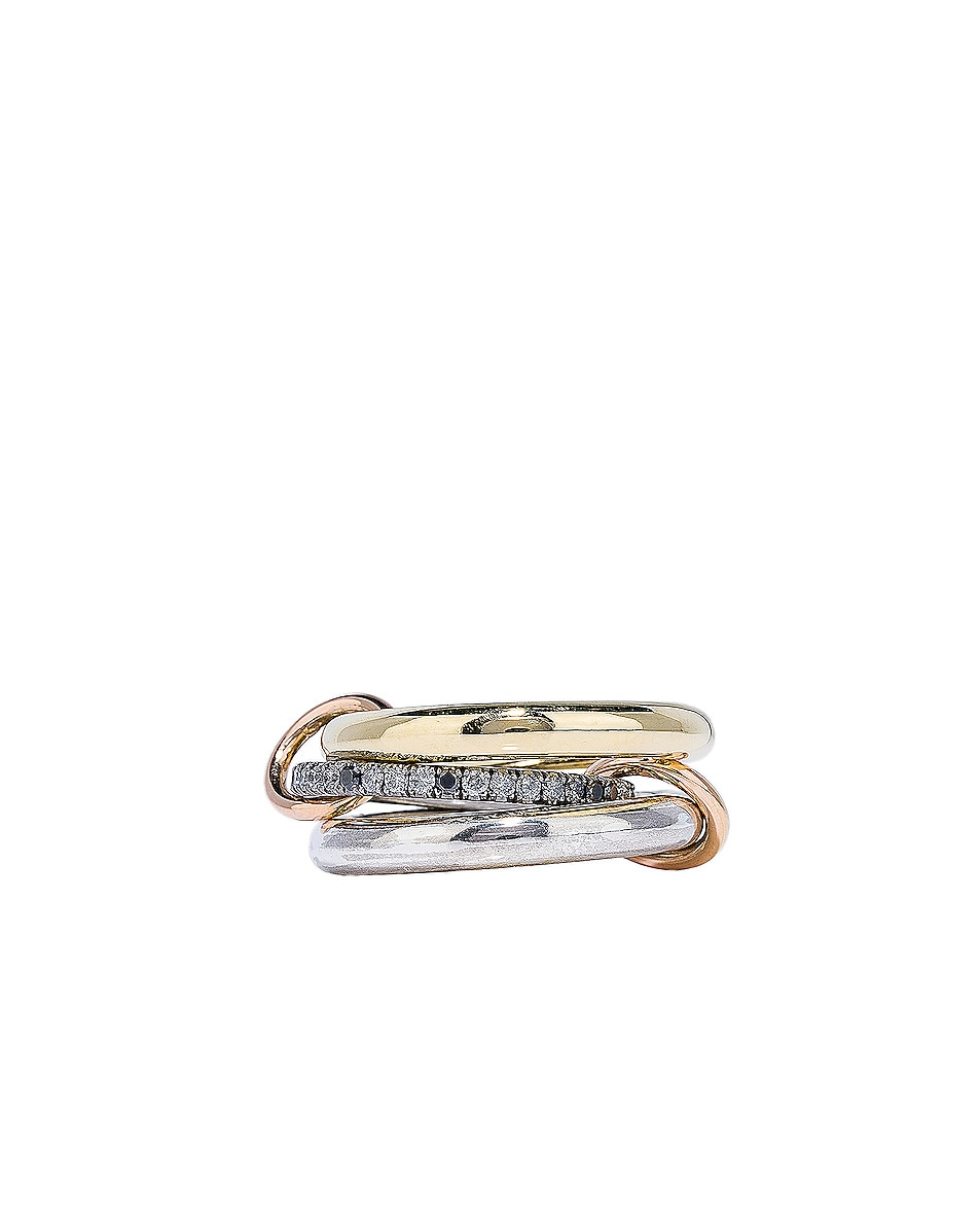 Image 1 of Spinelli Kilcollin Libra Ring in 18K Yellow Gold & Silver