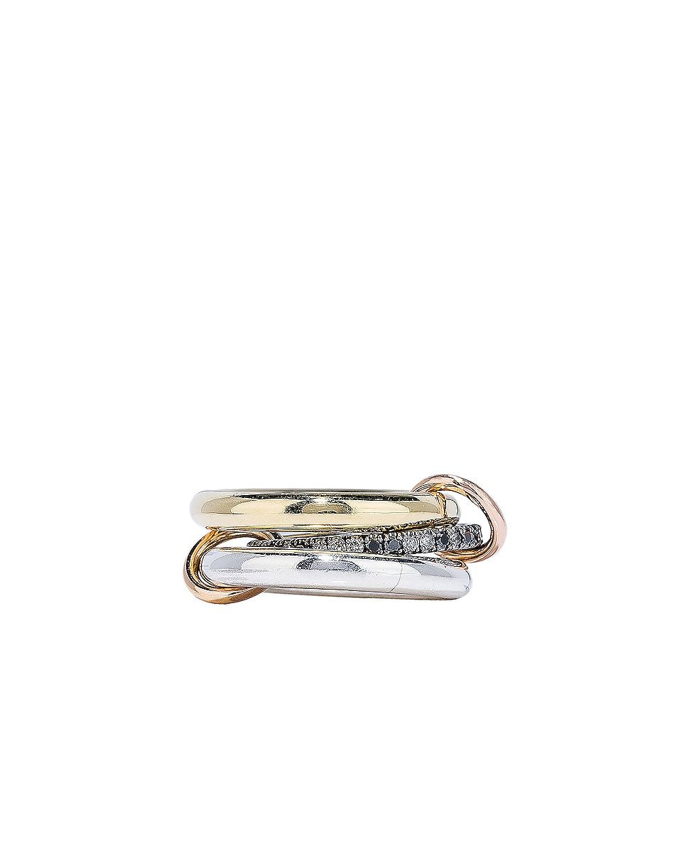 Image 3 of Spinelli Kilcollin Libra Ring in 18K Yellow Gold & Silver