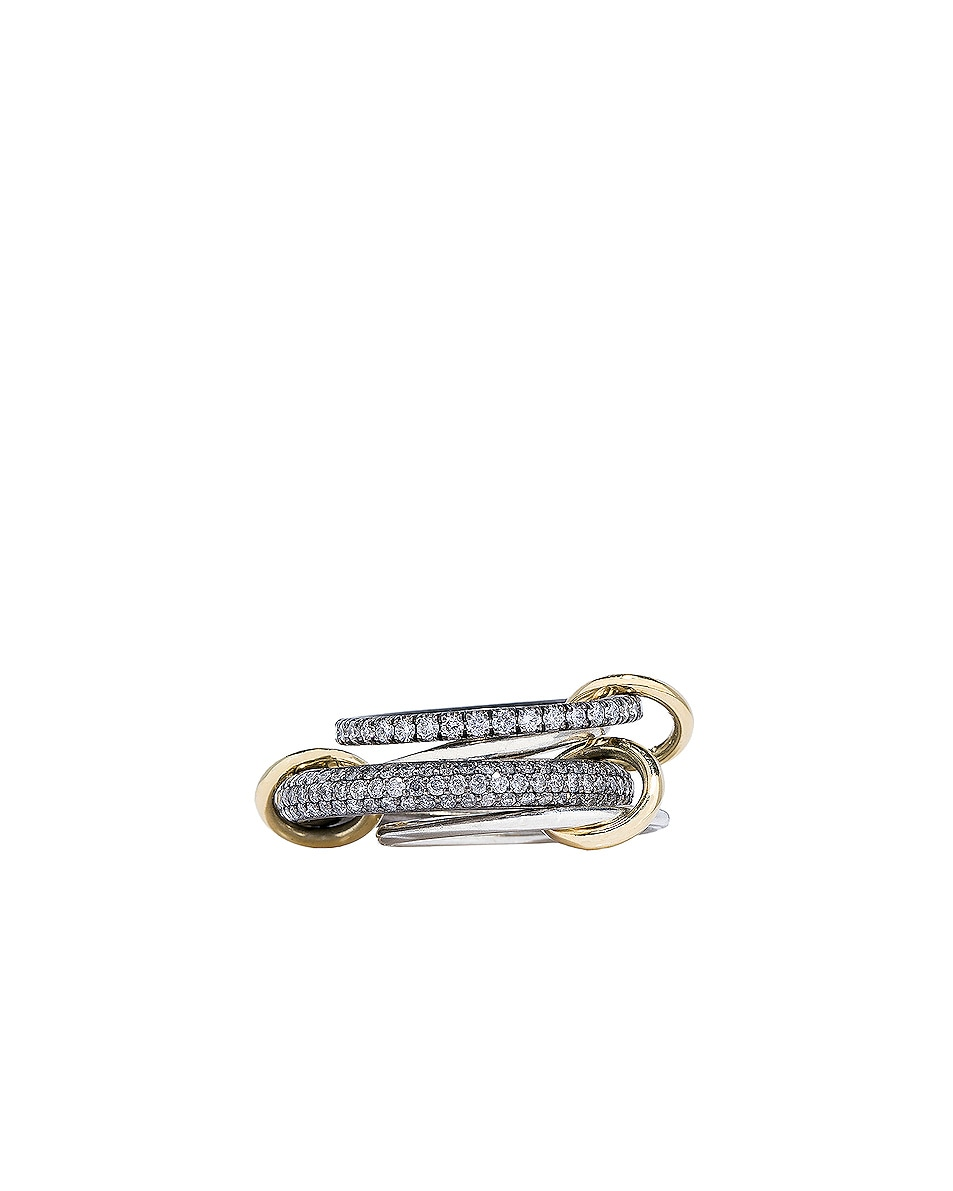 Image 3 of Spinelli Kilcollin Vega SG Ring in Black Rhodium Plated Silver