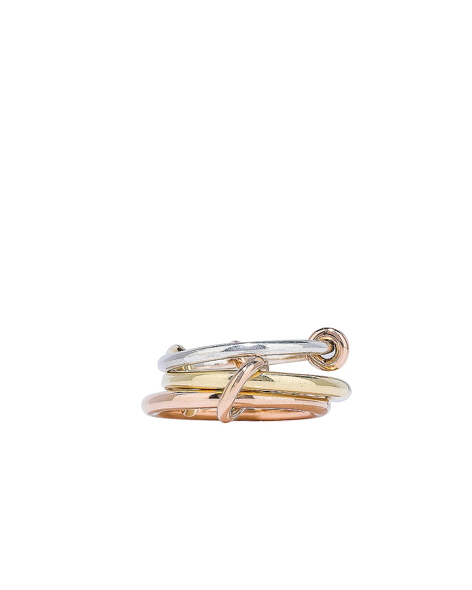 Image 3 of Spinelli Kilcollin Raneth Ring in Sterling Silver, 18K Rose Gold, and 18K Yellow Gold