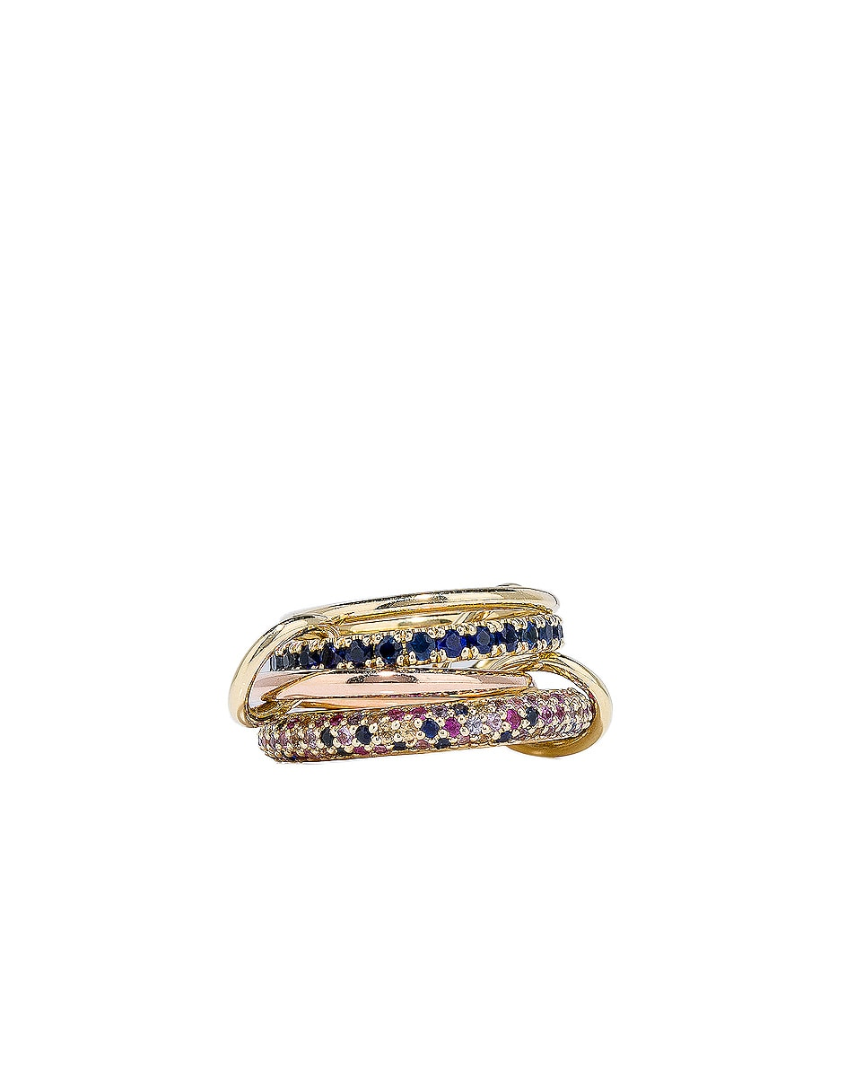 Image 1 of Spinelli Kilcollin Phoenix Royal Ring in 18K Yellow Gold & 18K Rose Gold