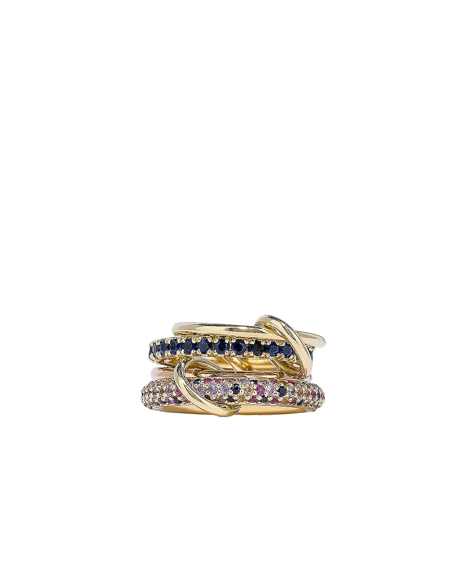 Image 2 of Spinelli Kilcollin Phoenix Royal Ring in 18K Yellow Gold & 18K Rose Gold