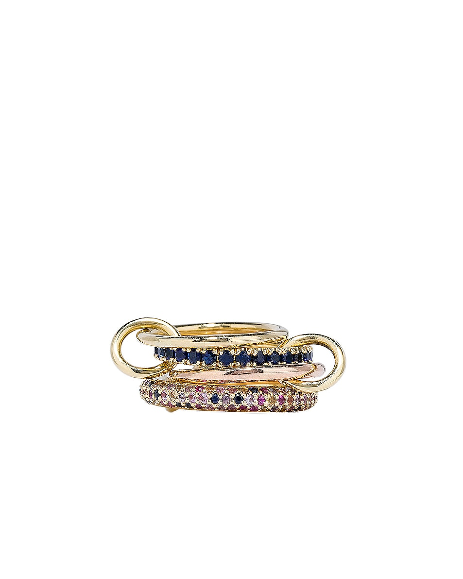 Image 3 of Spinelli Kilcollin Phoenix Royal Ring in 18K Yellow Gold & 18K Rose Gold