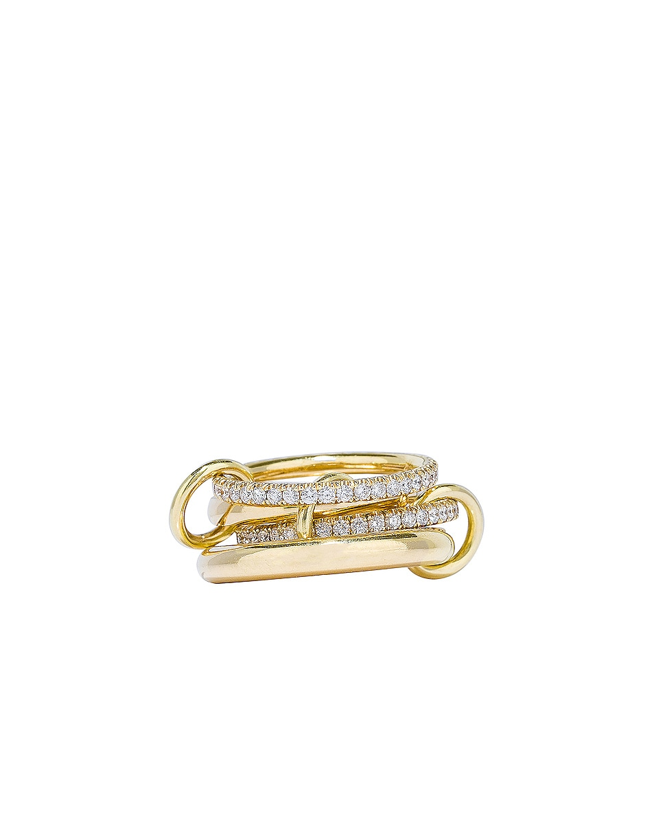 Image 3 of Spinelli Kilcollin Cancer YG Ring in 18K Yellow Gold