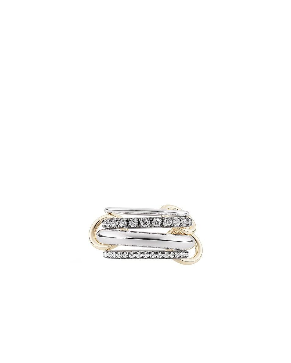 Image 1 of Spinelli Kilcollin Cassini Ring in Silver & Black