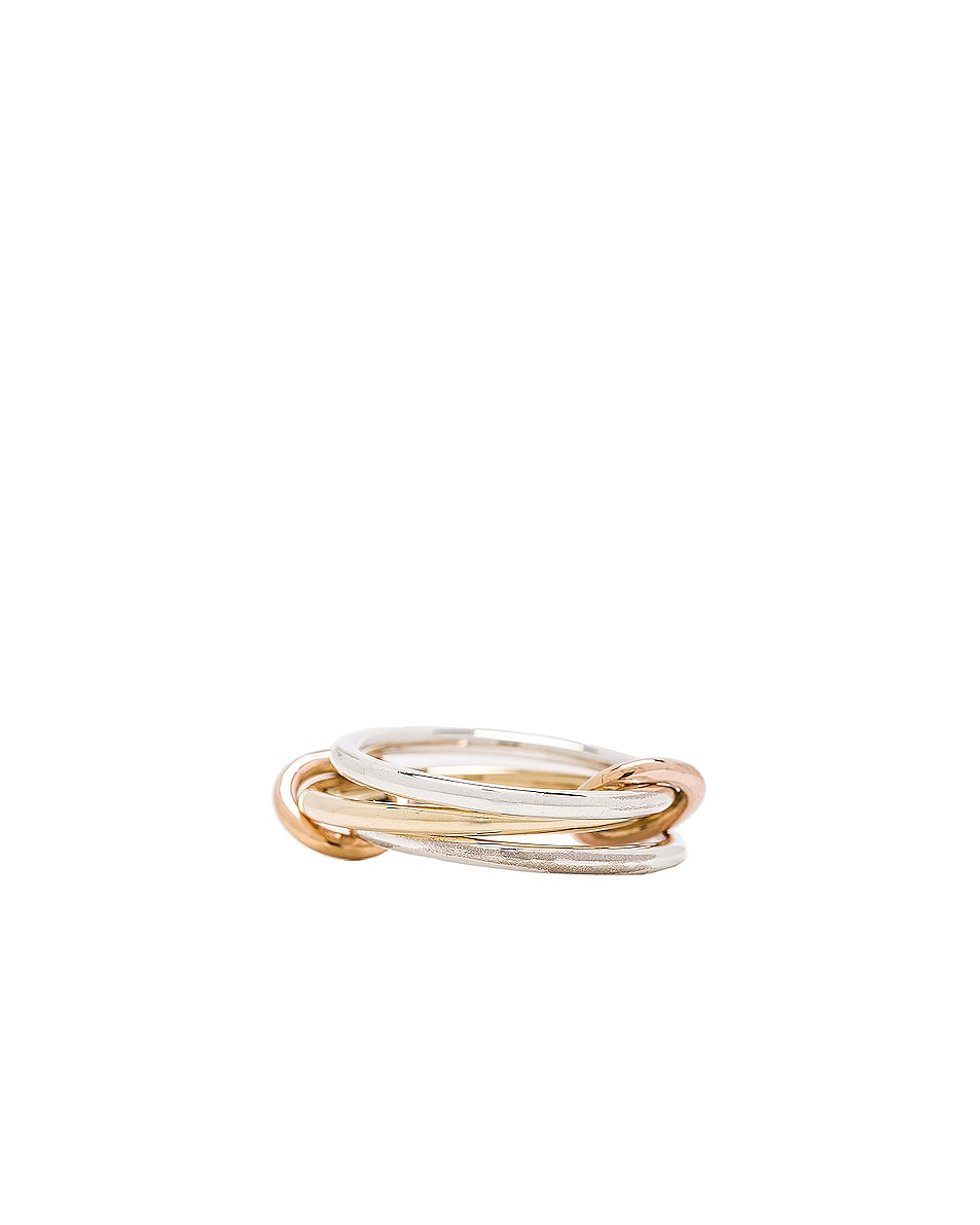 Image 1 of Spinelli Kilcollin Solarium Silver Ring in 18K Yellow Gold