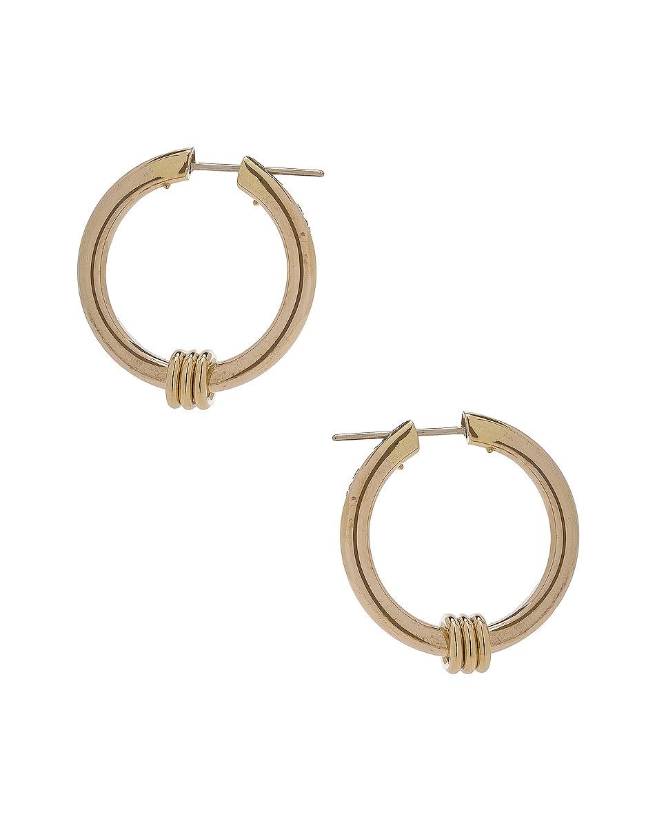 Image 1 of Spinelli Kilcollin Ursa Major Hoop Earrings in 18K Yellow Gold