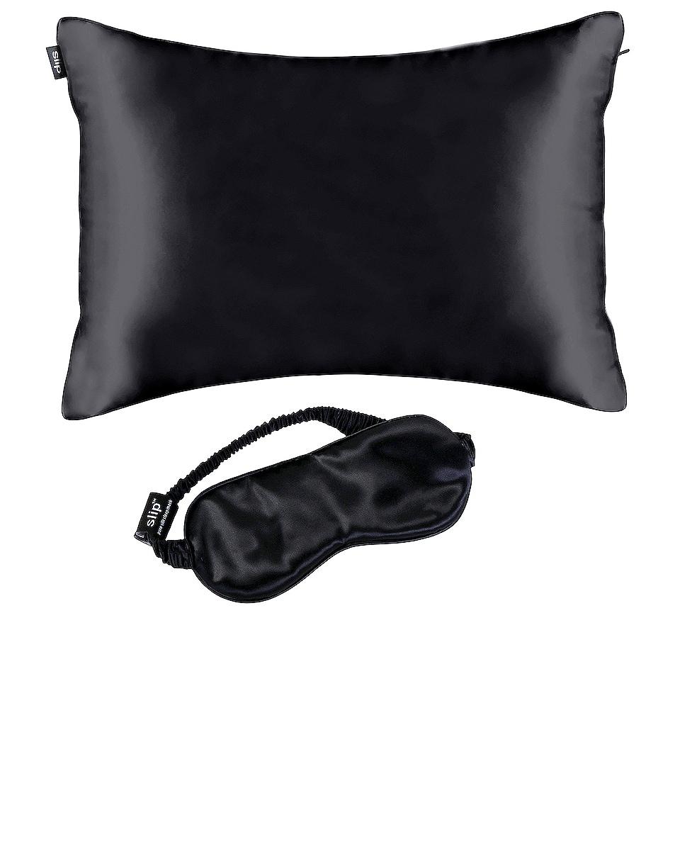 Image 1 of slip Beauty Sleep On The Go Travel Set in Black