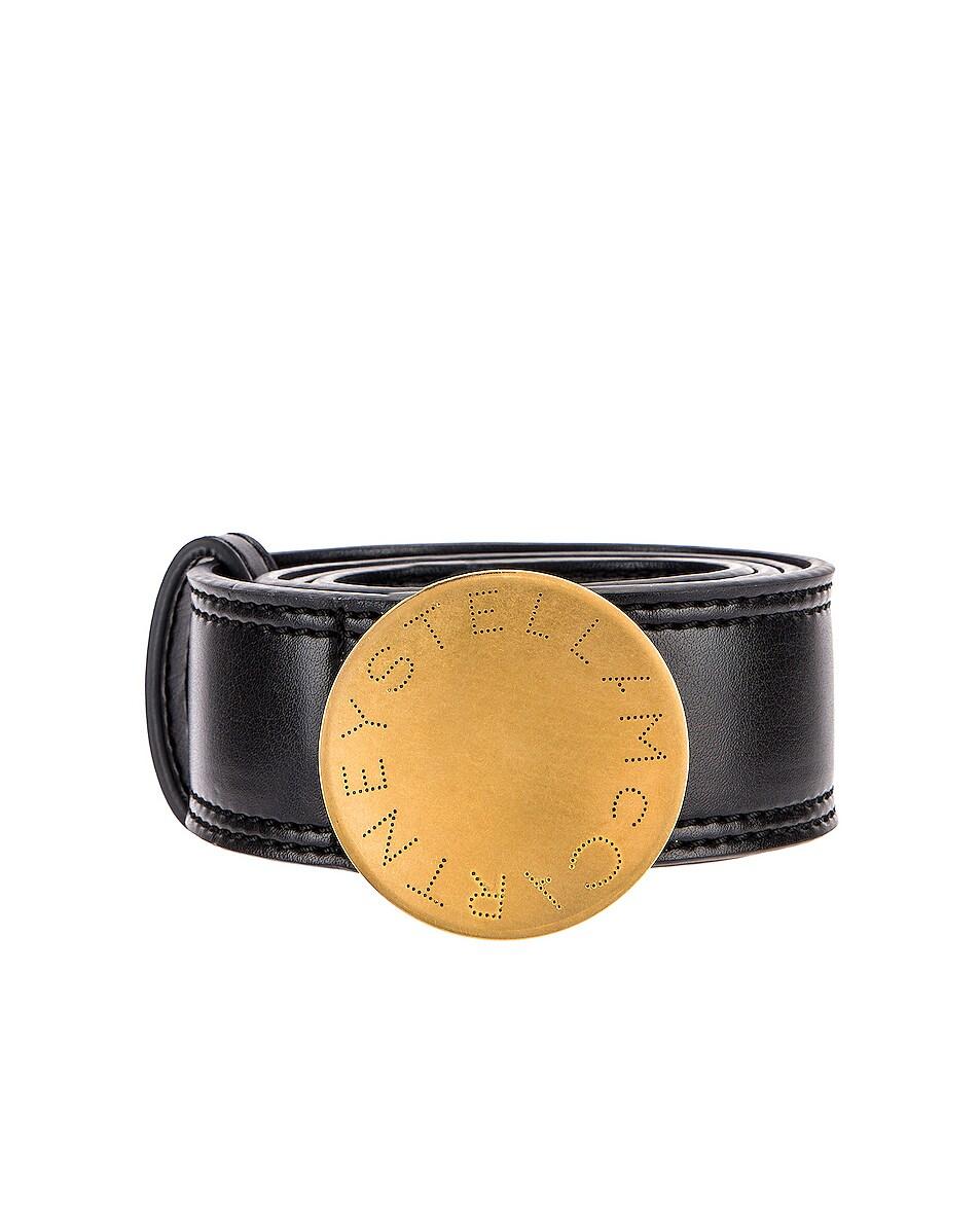 Image 1 of Stella McCartney Circle Belt in Black