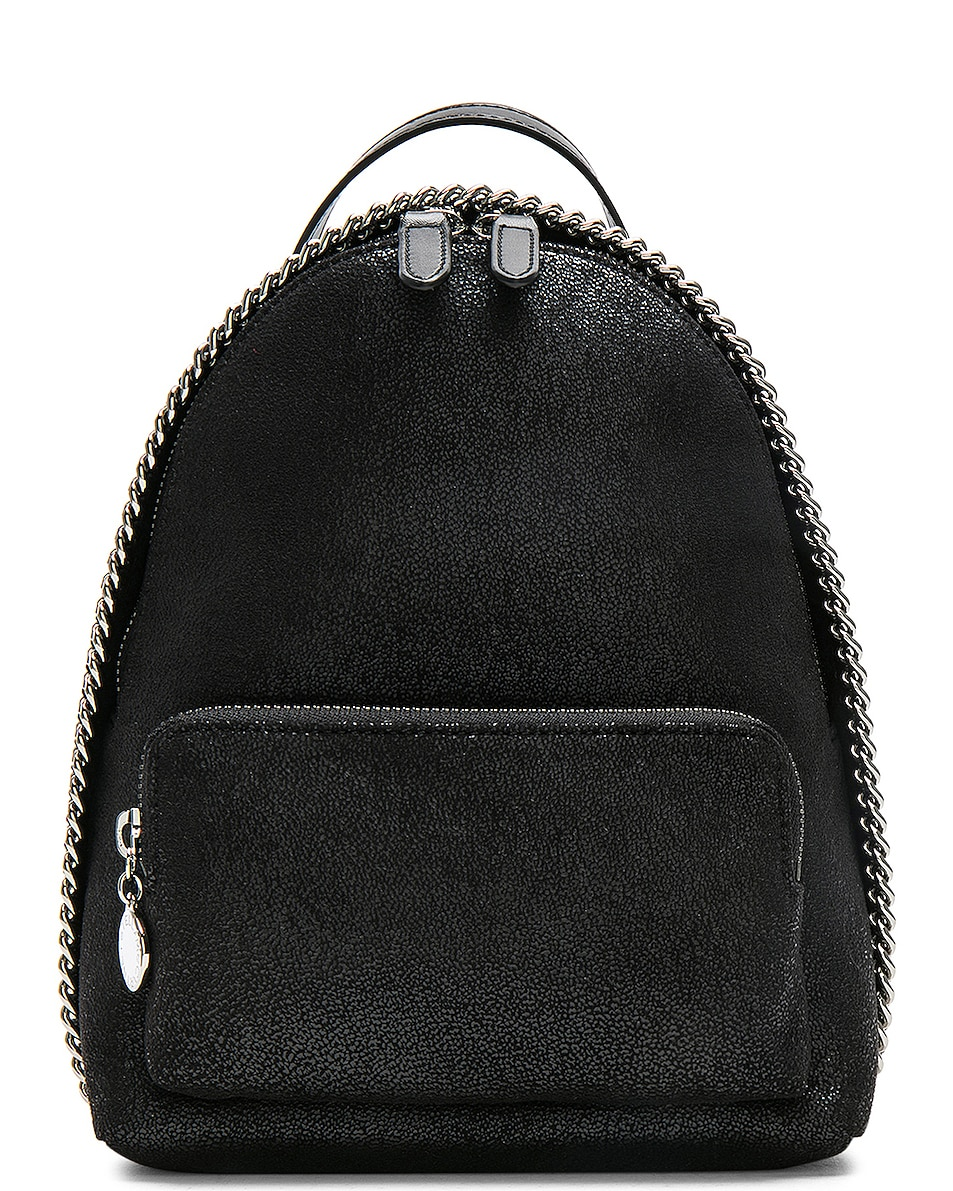 Image 1 of Stella McCartney Falabella Mini Backpack in Black