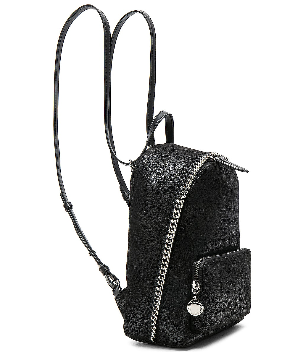 Image 4 of Stella McCartney Falabella Mini Backpack in Black