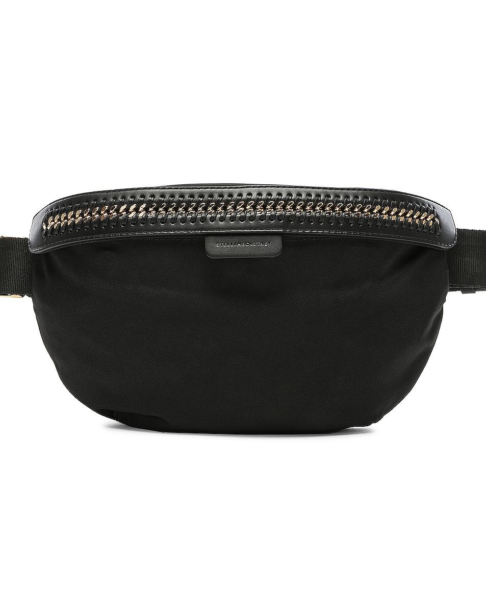 Image 1 of Stella McCartney Falabella Go Nylon Belt Bag in Black