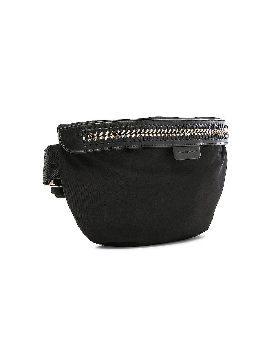 Image 4 of Stella McCartney Falabella Go Nylon Belt Bag in Black