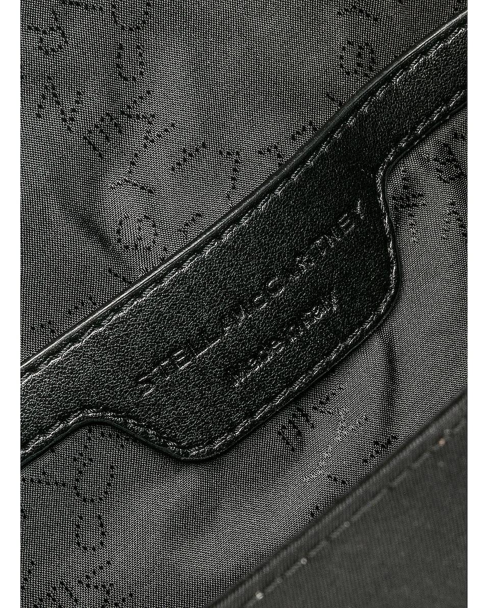 Image 6 of Stella McCartney Falabella Go Nylon Belt Bag in Black