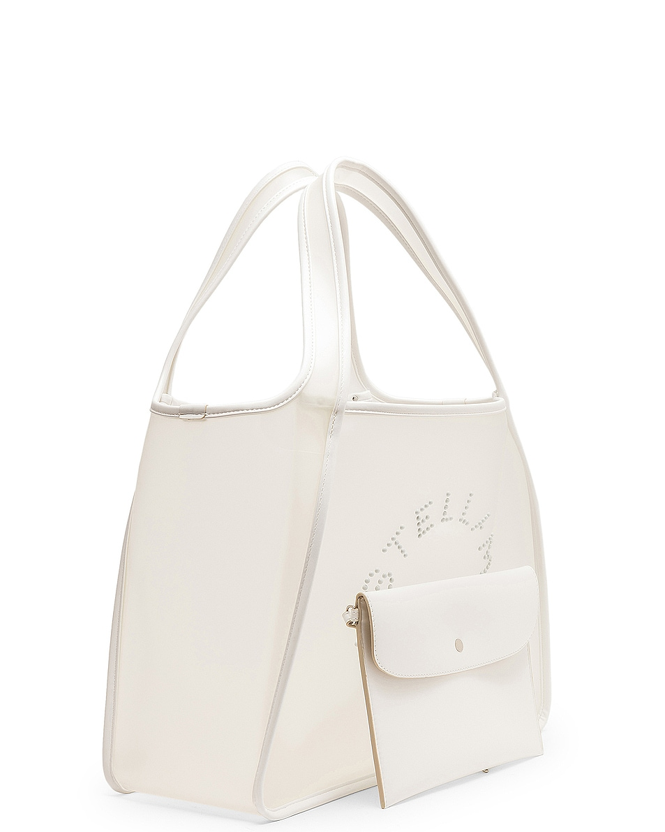 Image 4 of Stella McCartney Transparent Tote in Clear