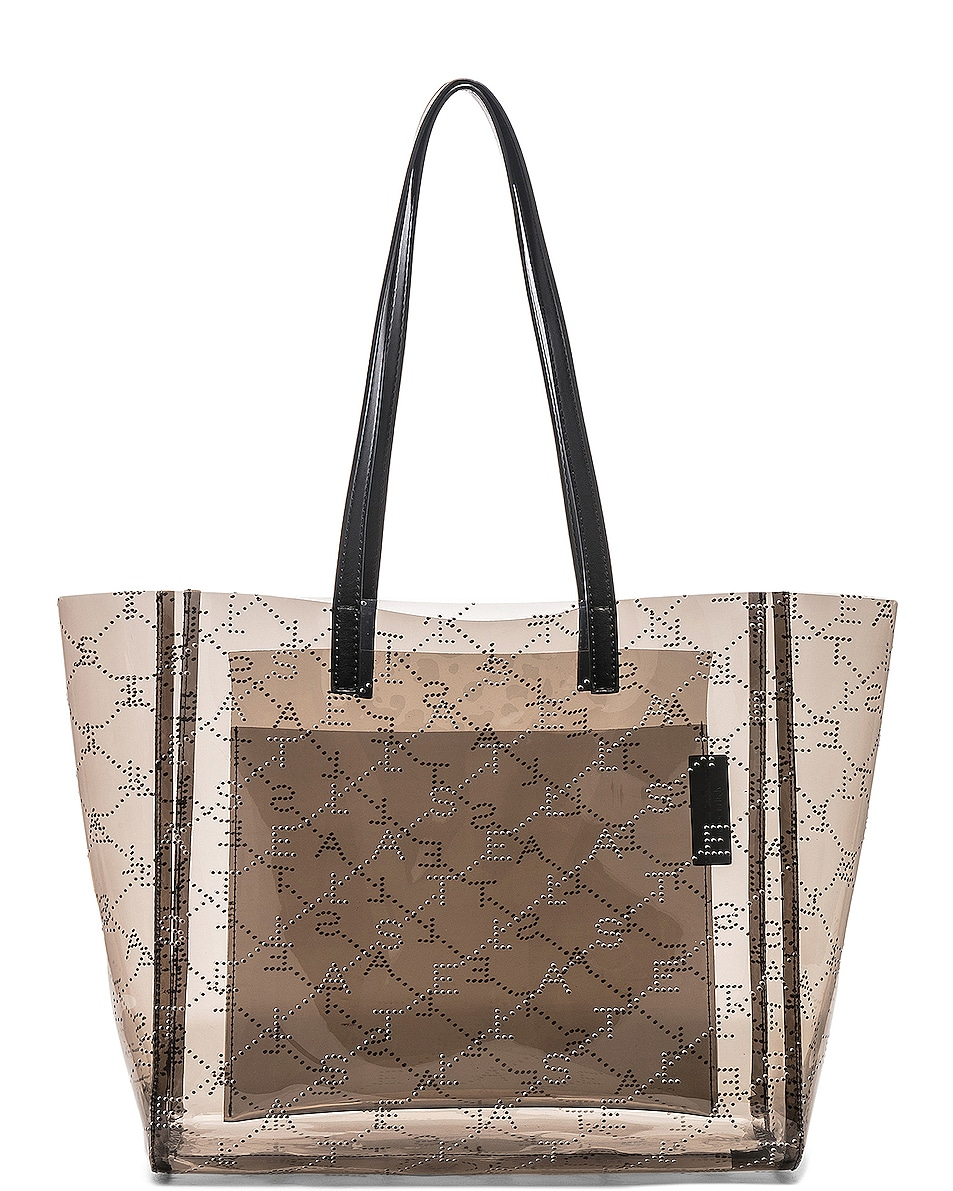 Image 2 of Stella McCartney Small Tote in Fumee