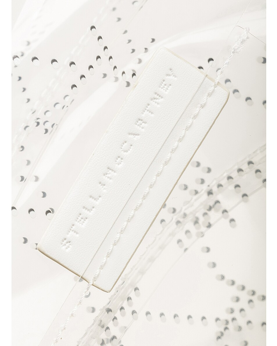Image 6 of Stella McCartney Small Tote in Clear