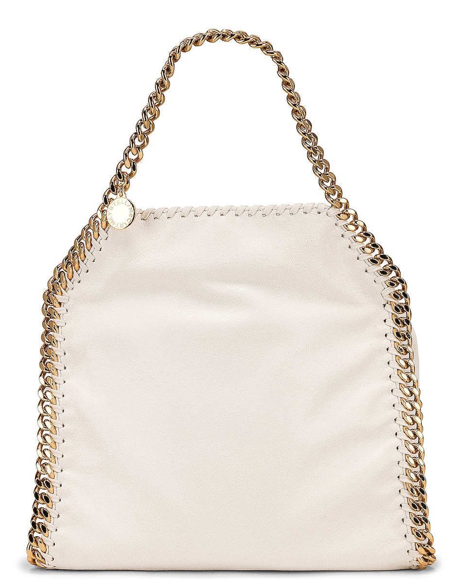 Image 1 of Stella McCartney Mini Falabella Tote in Chalk