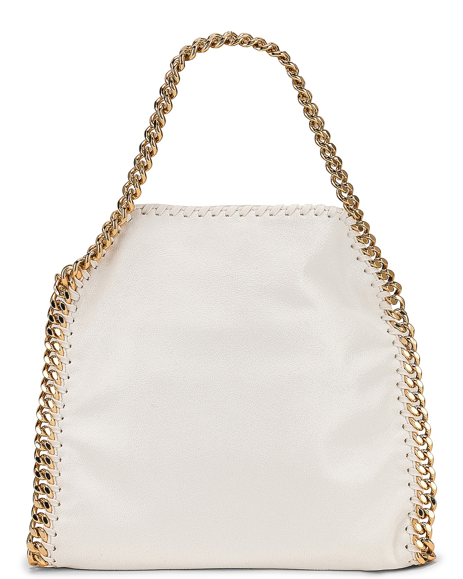 Image 3 of Stella McCartney Mini Falabella Tote in Chalk
