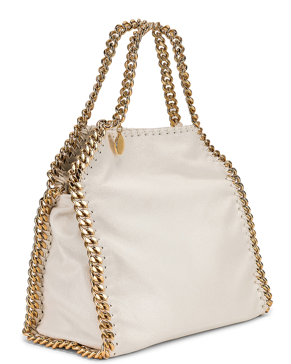 Image 4 of Stella McCartney Mini Falabella Tote in Chalk