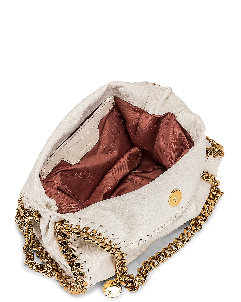 Image 5 of Stella McCartney Mini Falabella Tote in Chalk