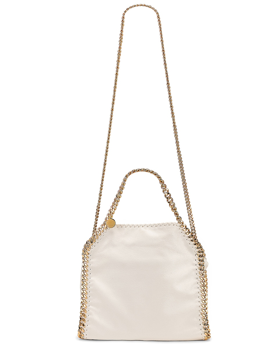 Image 6 of Stella McCartney Mini Falabella Tote in Chalk