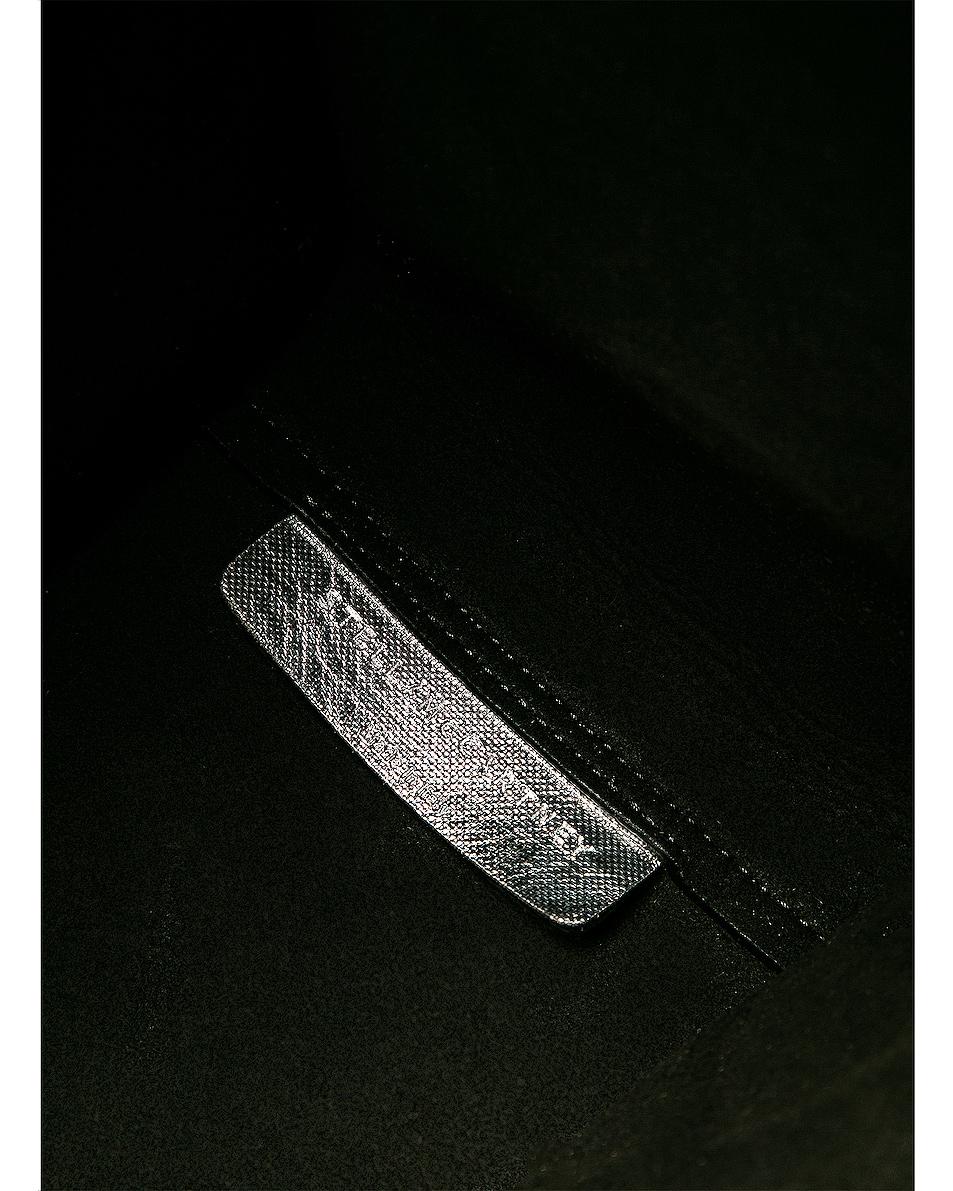 Image 6 of Stella McCartney Logo Metallic Tote in Silver