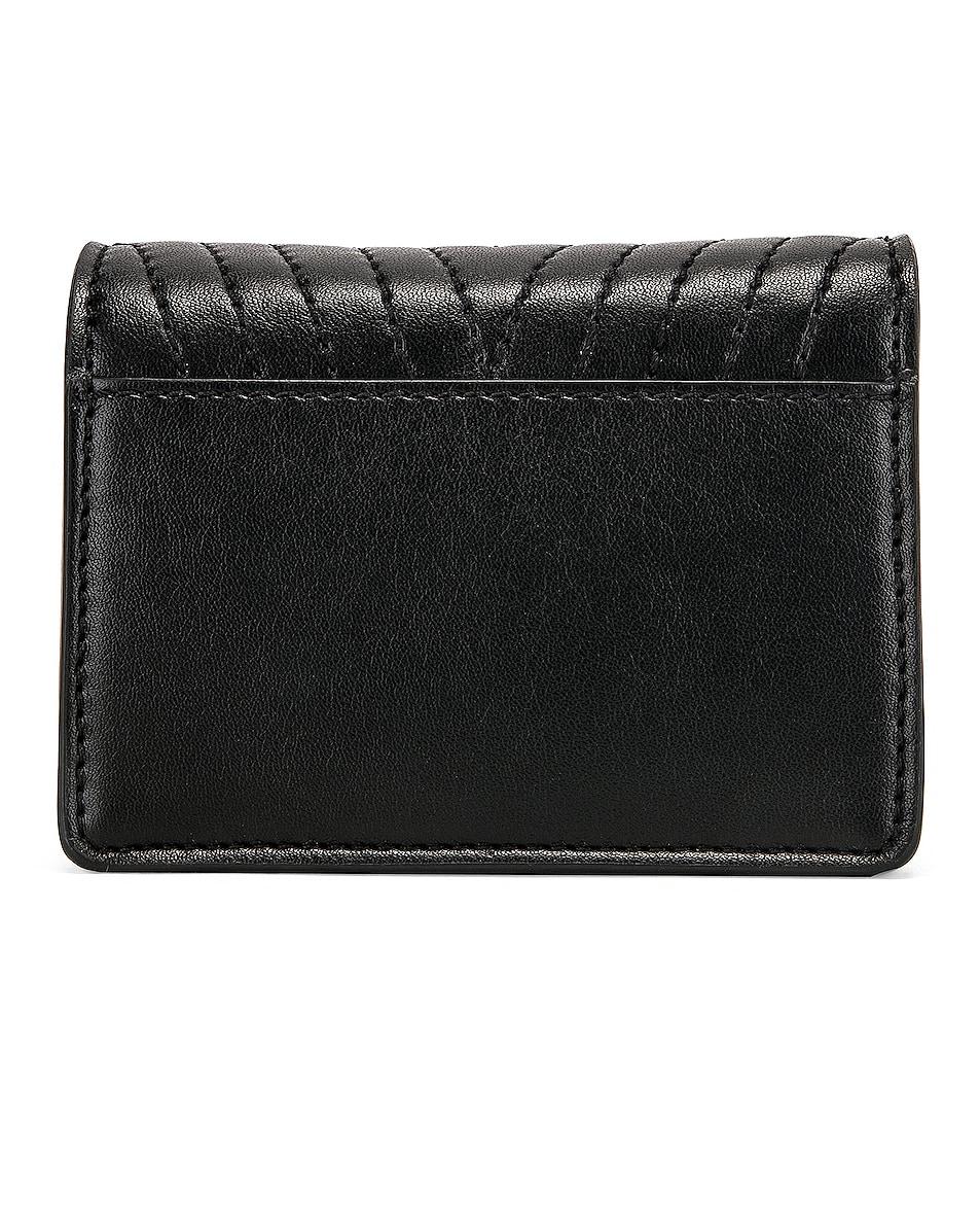 Image 3 of Stella McCartney Small Flap Star Shoulder Bag in Black
