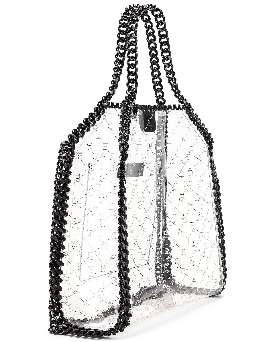 Image 4 of Stella McCartney Mini Clear Falabella Monogram Tote in Clear