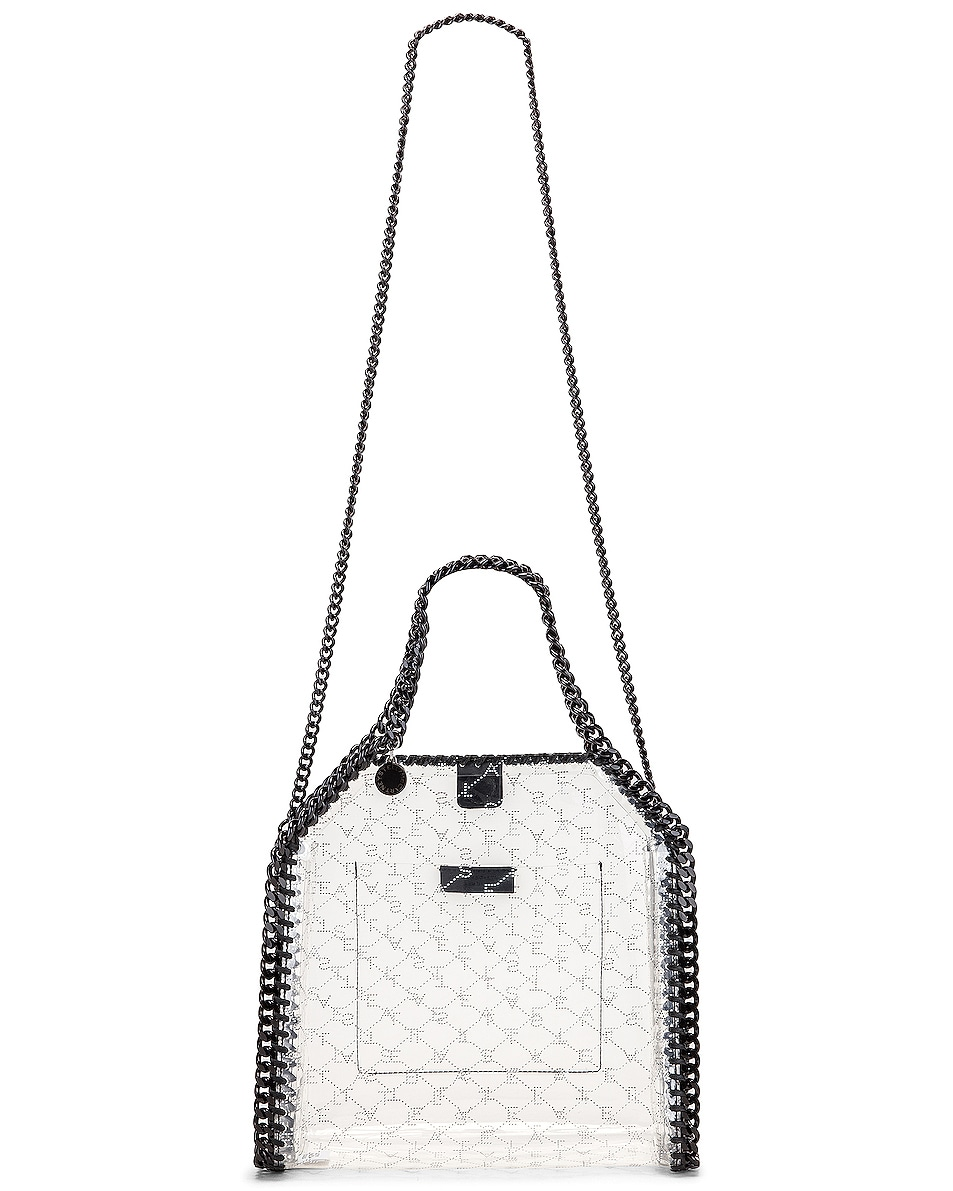 Image 6 of Stella McCartney Mini Clear Falabella Monogram Tote in Clear
