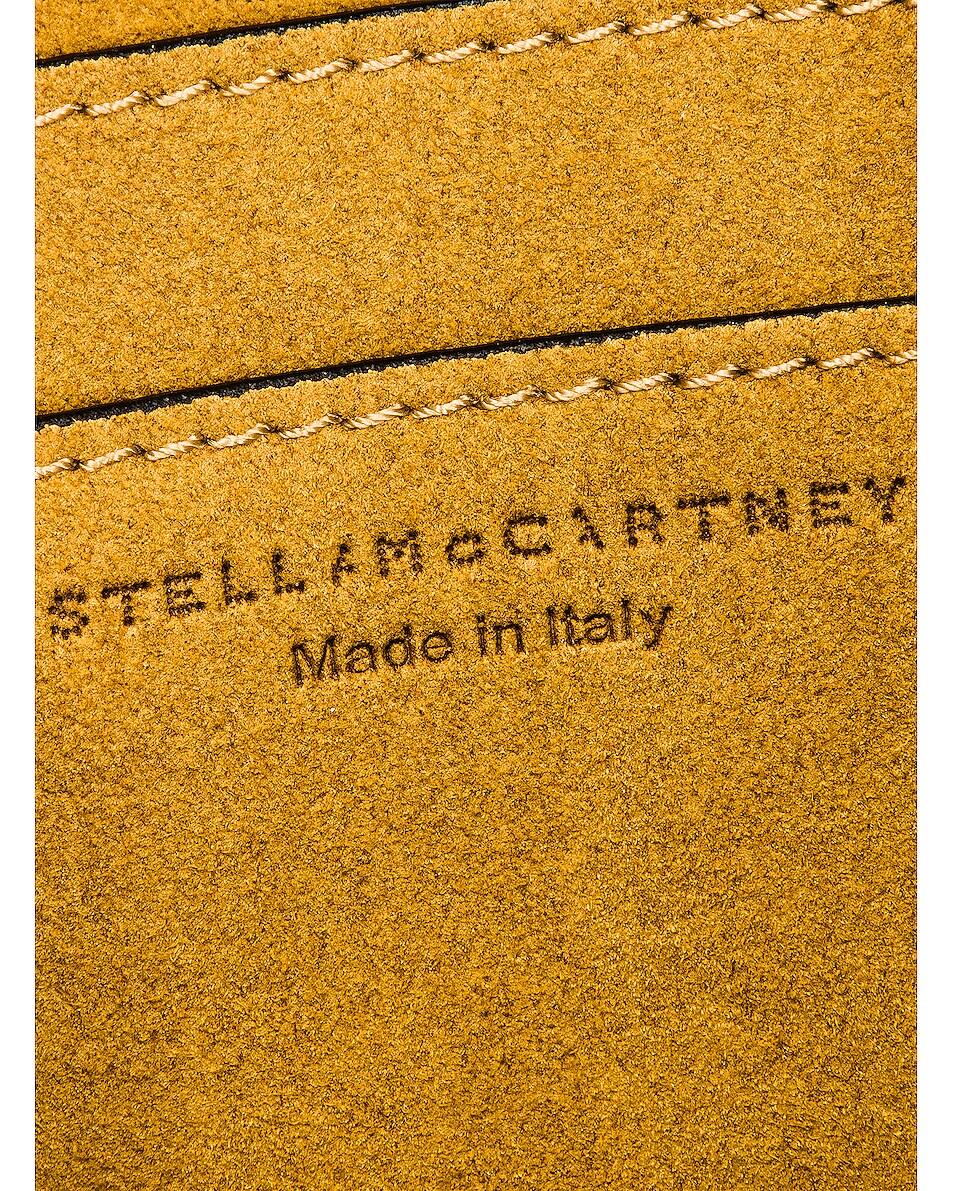 Image 6 of Stella McCartney Mini Logo Crossbody Bag in Black