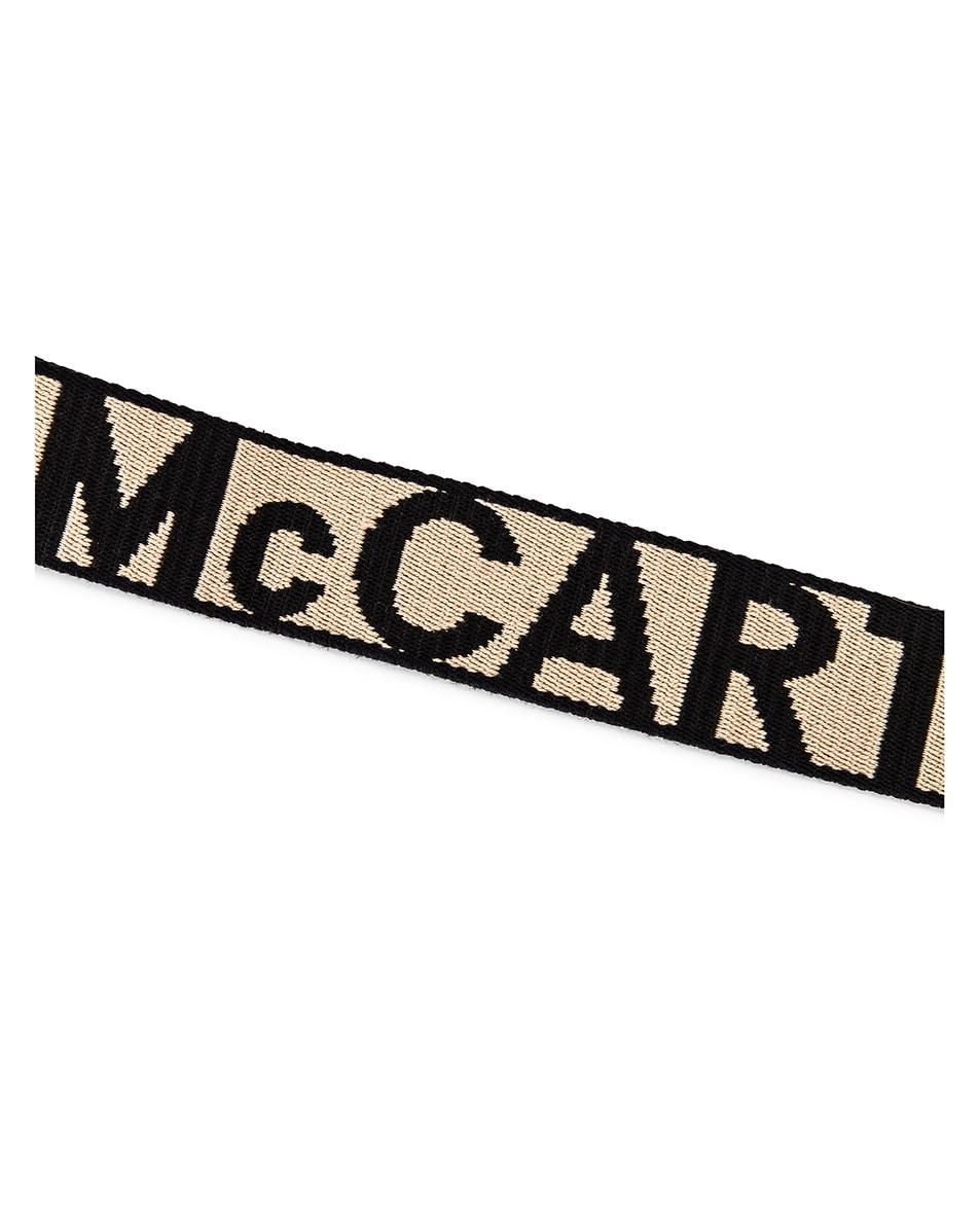 Image 8 of Stella McCartney Mini Logo Crossbody Bag in Black