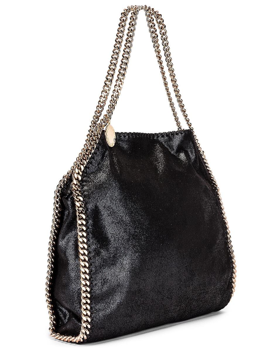 Image 4 of Stella McCartney Small Falabella Chain Bag in Black