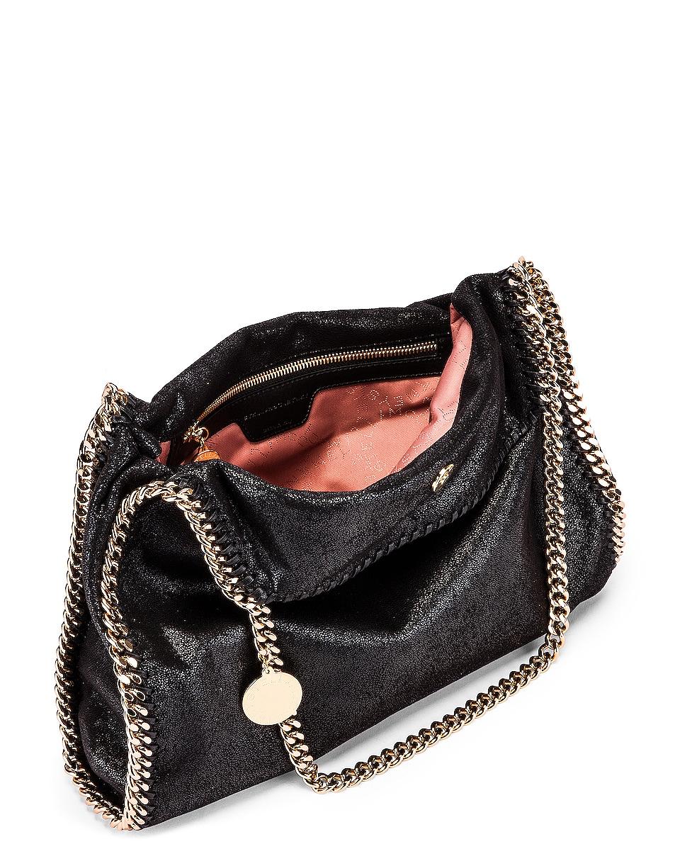 Image 5 of Stella McCartney Small Falabella Chain Bag in Black
