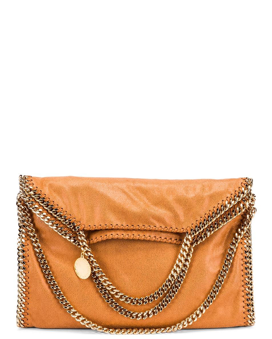 Image 6 of Stella McCartney 3 Chain Falabella Bag in Tan