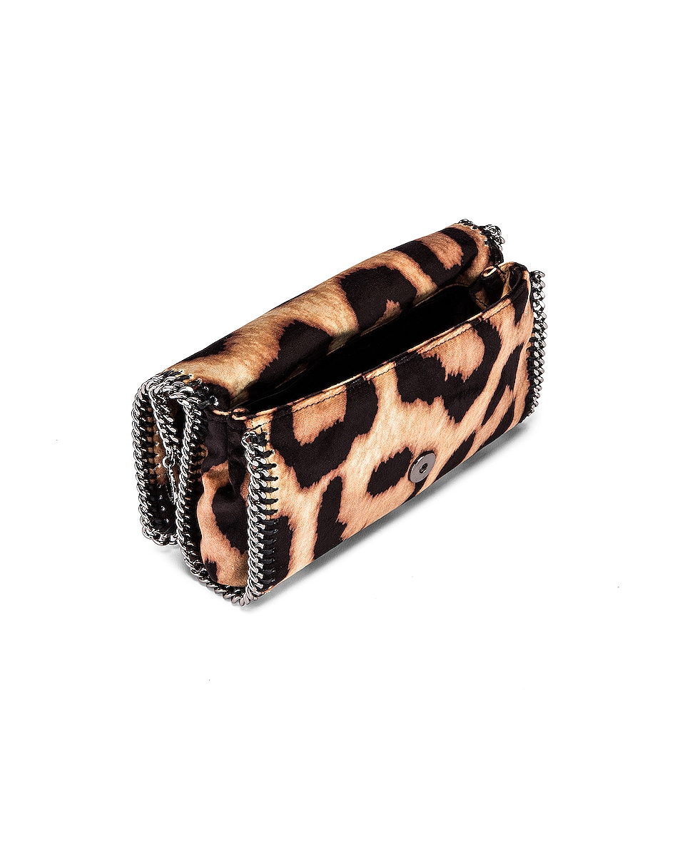Image 4 of Stella McCartney Clutch Crossbody Bag in Camel & Black