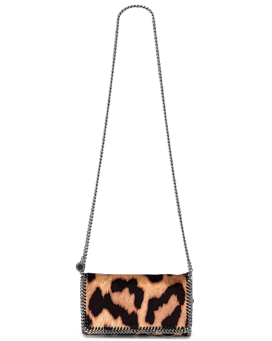 Image 5 of Stella McCartney Clutch Crossbody Bag in Camel & Black