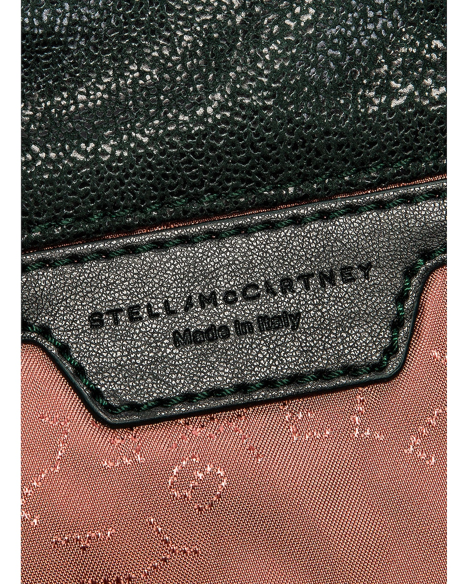 Image 6 of Stella McCartney Shaggy Deer Falabella Tiny Tote in Pine