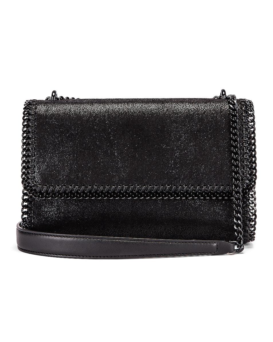 Image 1 of Stella McCartney Falabella Shoulder Chain Bag in Black