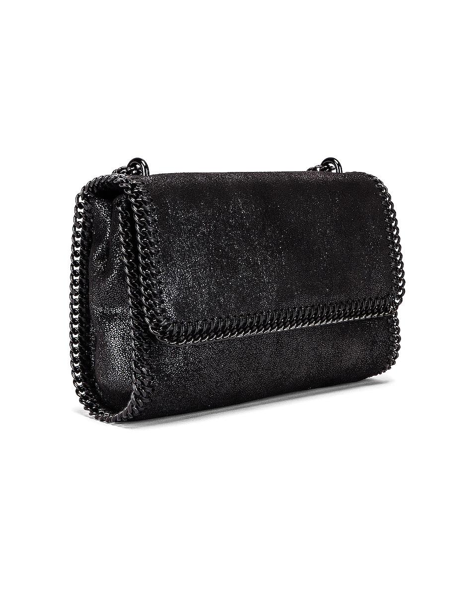 Image 3 of Stella McCartney Falabella Shoulder Chain Bag in Black