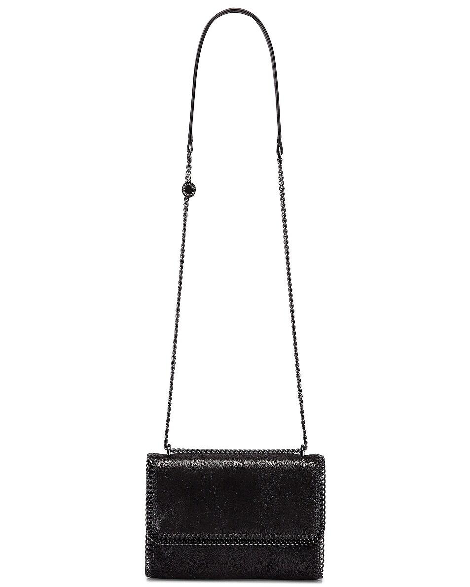 Image 5 of Stella McCartney Falabella Shoulder Chain Bag in Black