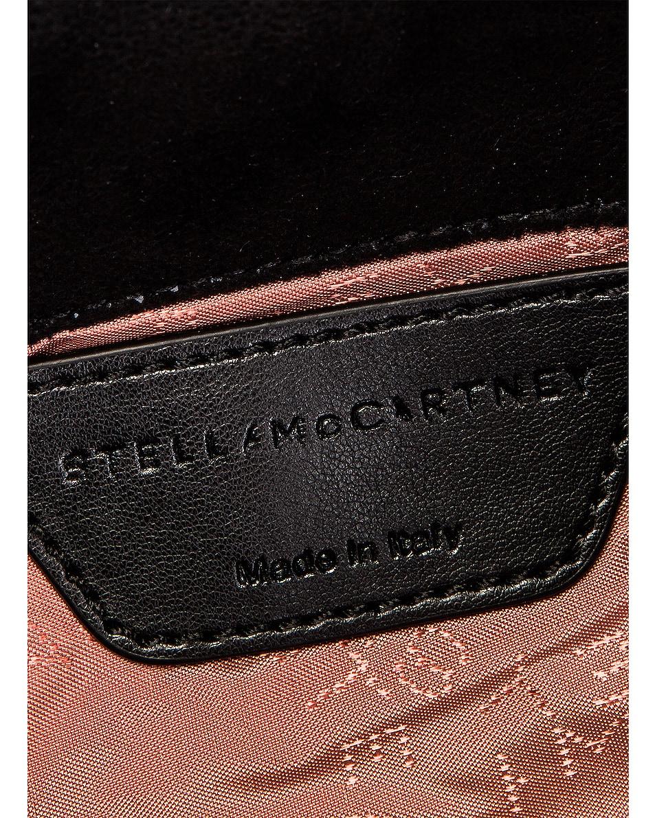 Image 6 of Stella McCartney Falabella Shoulder Chain Bag in Black