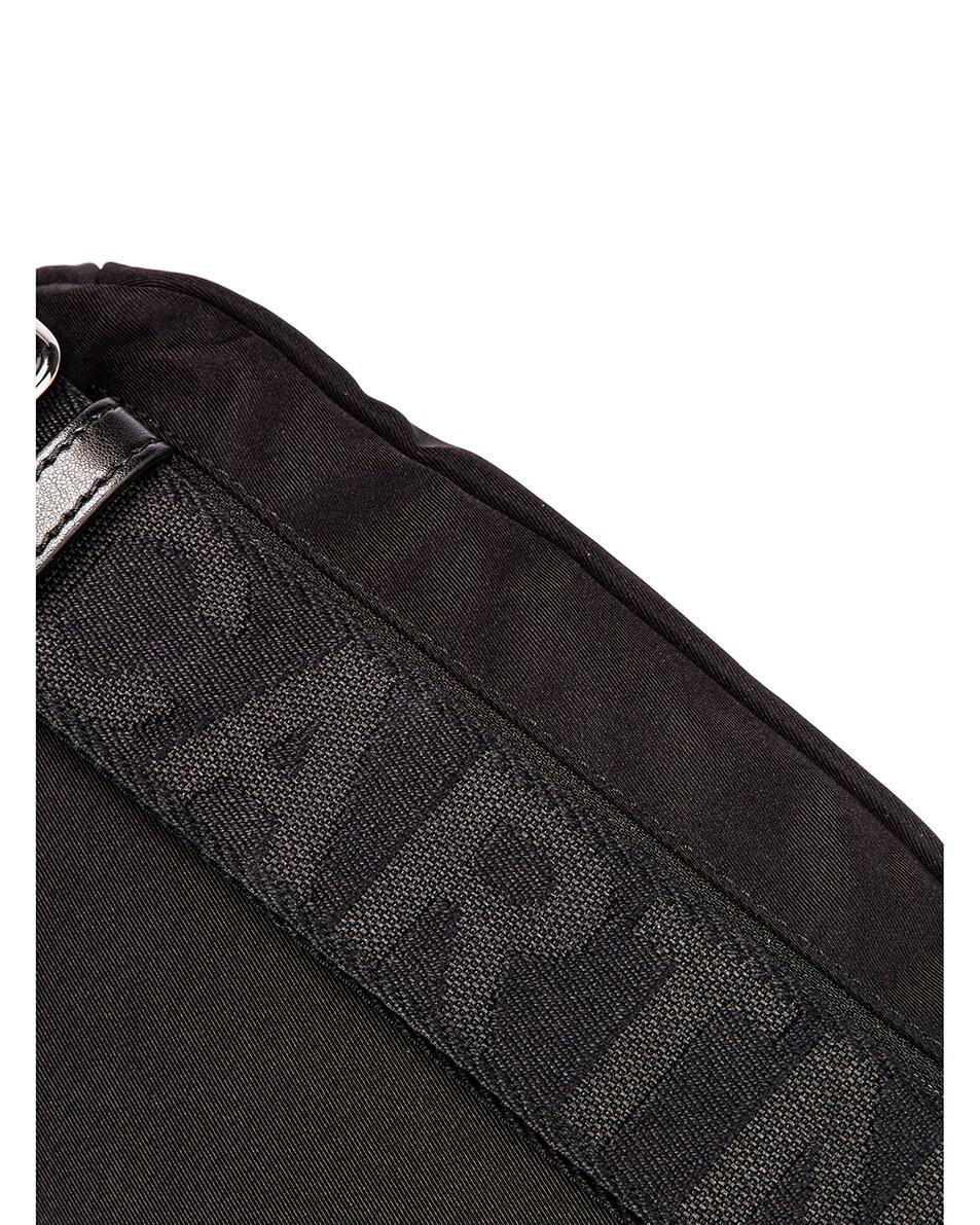 Image 7 of Stella McCartney Nylon Falabella Bum Bag in Black & White