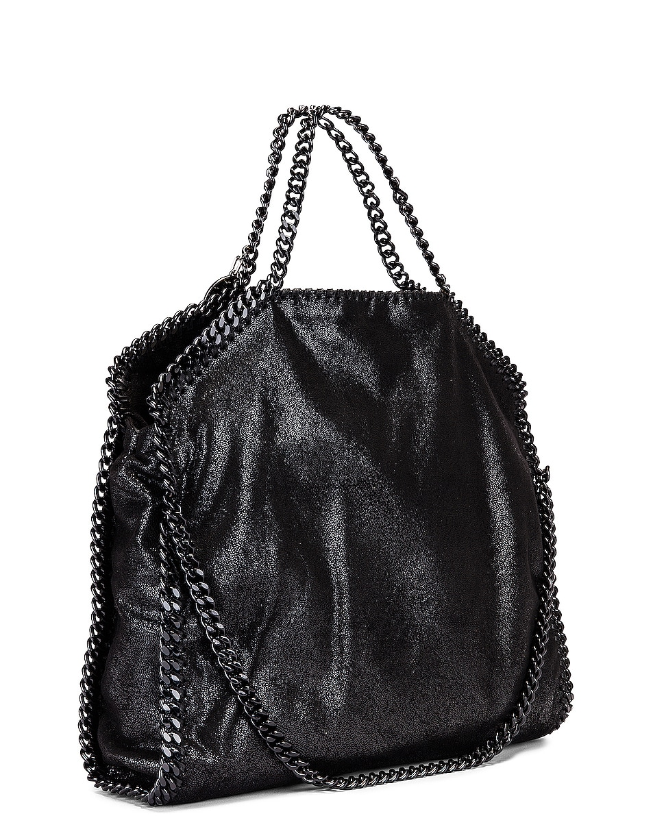 Image 4 of Stella McCartney Falabella Chain Bag in Black