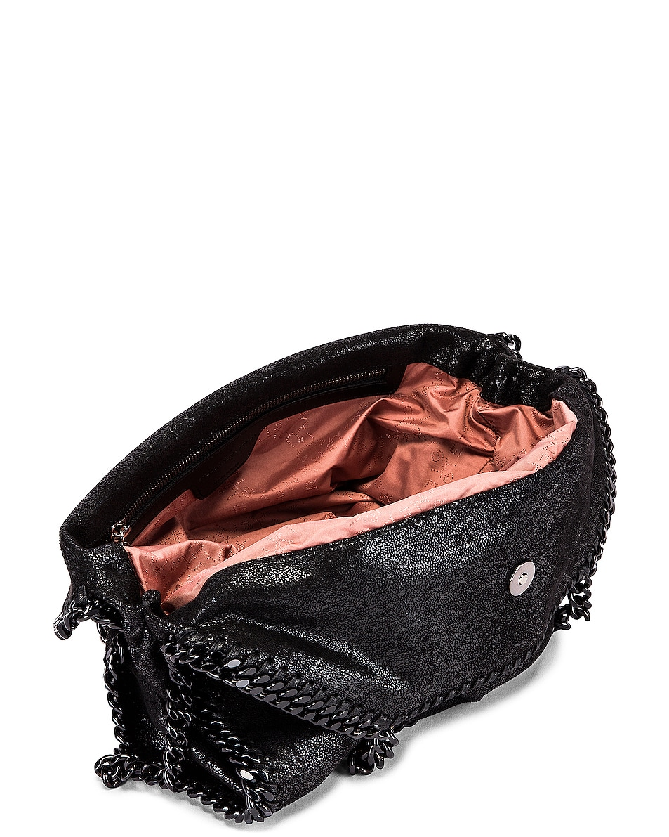 Image 5 of Stella McCartney Falabella Chain Bag in Black